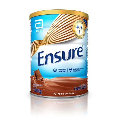 Suplemento Adulto Ensure Pó Sabor Chocolate 900g